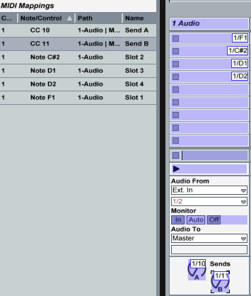 Ableton Live midi learn step 3